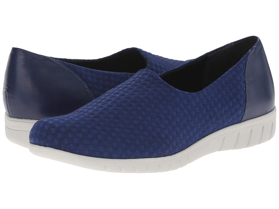 Munro - Cruise (BlueWoven Fabric) Women's Slip on Shoes