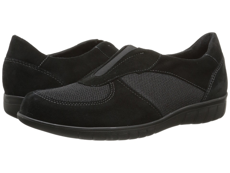 Munro American - Olympia (Black Combo) Women's Slip on Shoes
