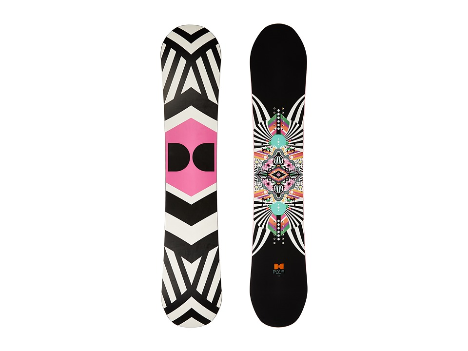 DC - W. Ply '16 142cm (Multi) Snowboards Sports Equipment