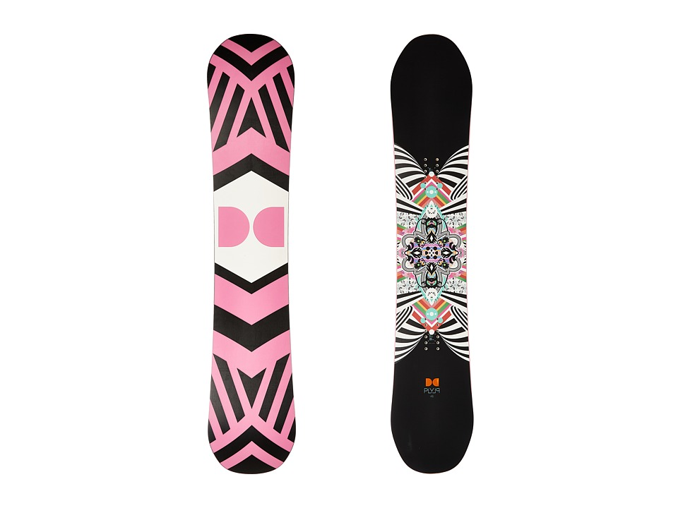 DC - W. Ply '16 146cm (Multi) Snowboards Sports Equipment