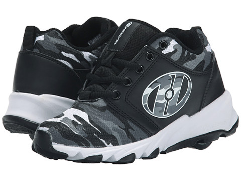 Heelys - Hightail (Little Kid/Big Kid/Adult) (Black/Camo) Boy
