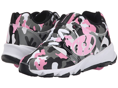 Heelys - Hightail (Little Kid/Big Kid/Adult) (Pink/Camo) Girl