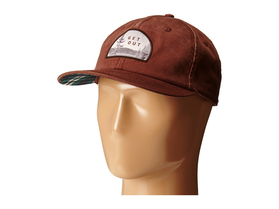 Life is good - High Rise Chill Cap (Chestnut Brown) Caps