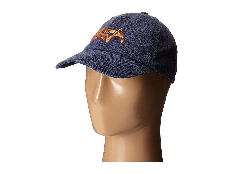 Life is good - Rough Wash Cap (Darkest Blue 1) Baseball Caps