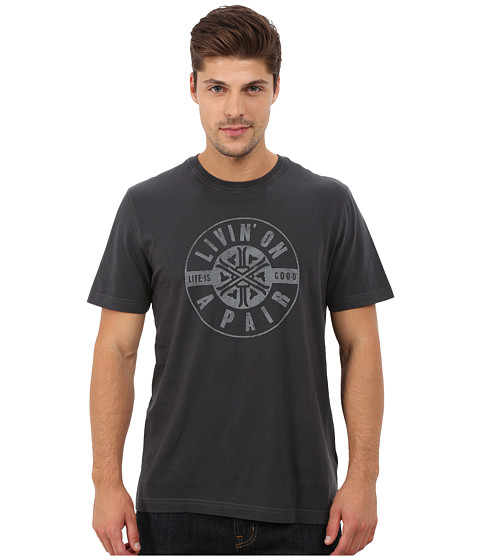 Life is good - Crusher Tee (Night Black/Livin' On A Pair) Men's T Shirt