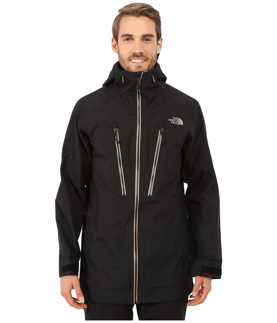 The North Face - Free Thinker Jacket (TNF Black/Brindle Brown/Asphalt Grey) Men's Coat