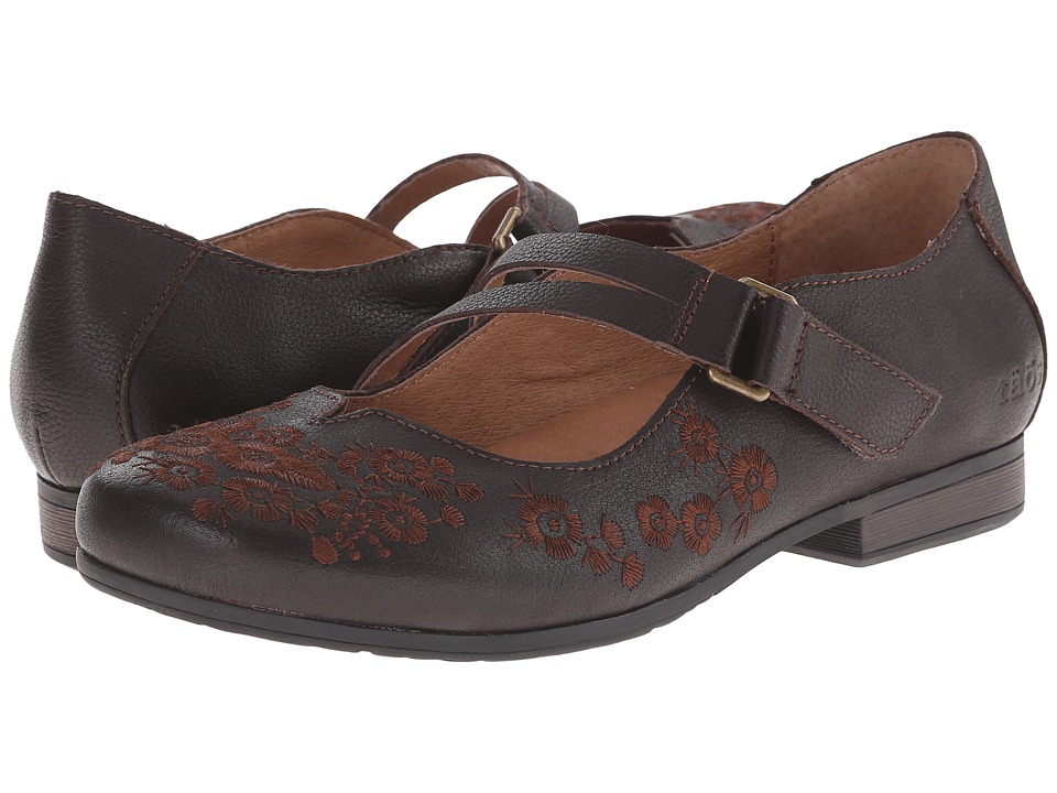 Taos Shoes Chocolate Size
