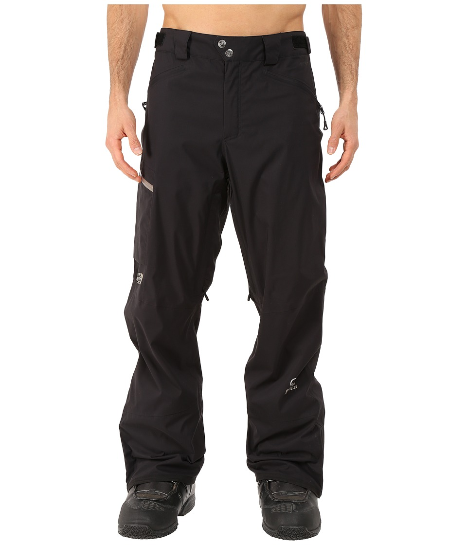 The North Face - Sickline HyVent Alpha Pants (TNF Black/Brindle Brown) Men's Outerwear