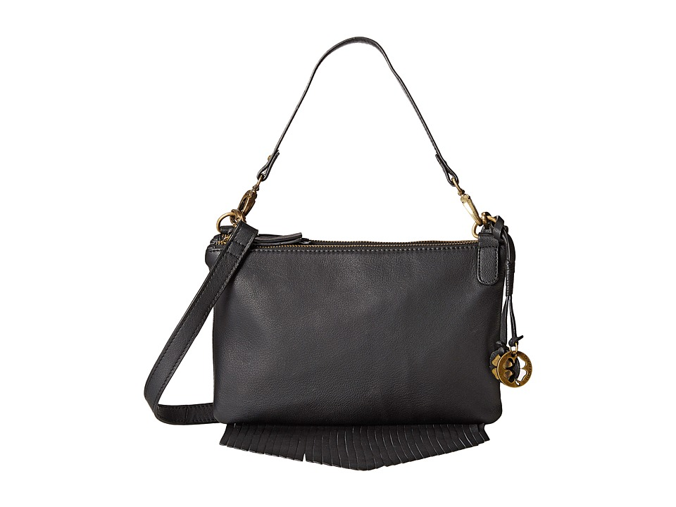 Lucky Brand - Bailey Convertible Crossbody (Black) Cross Body Handbags