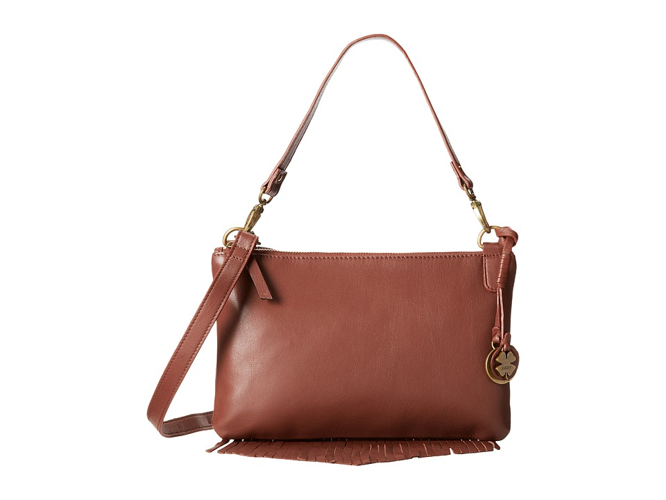 Lucky Brand - Bailey Convertible Crossbody (Brandy) Cross Body Handbags