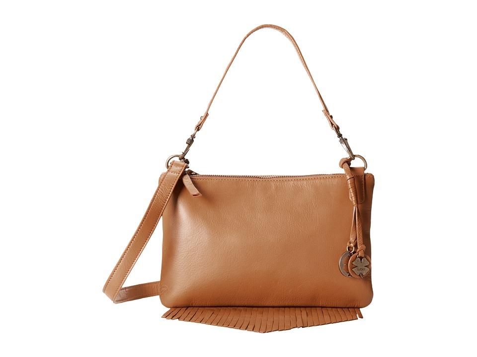 Lucky Brand - Bailey Convertible Crossbody (Cognac) Cross Body Handbags