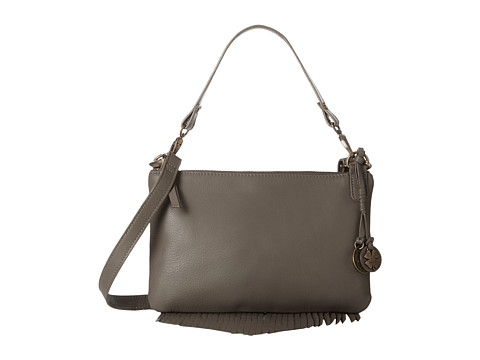 Lucky Brand - Bailey Convertible Crossbody (Smoke) Cross Body Handbags