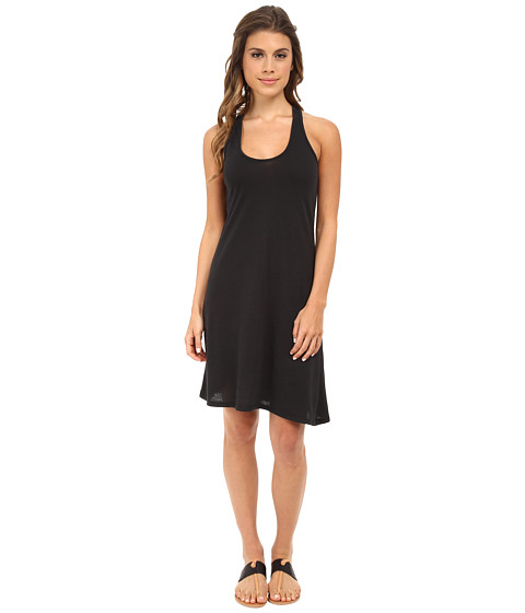 Alternative - Eco Jersey Twist Dress (Eco True Black) Women's Dress