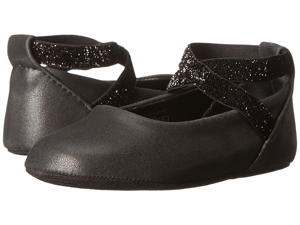Kenneth Cole Reaction Kids - NY Baby Tap Ur It (Infant/Toddler) (Black) Girl's Shoes