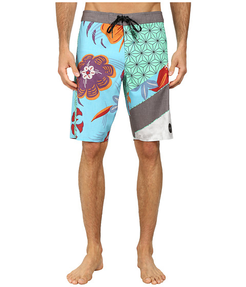 O'Neill - Jordy Freakout Superfreak Series Boardshort (Grey) Men's Swimwear