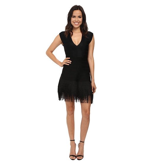 French Connection - La Belle Epoque Dress (Black) Women's Dress
