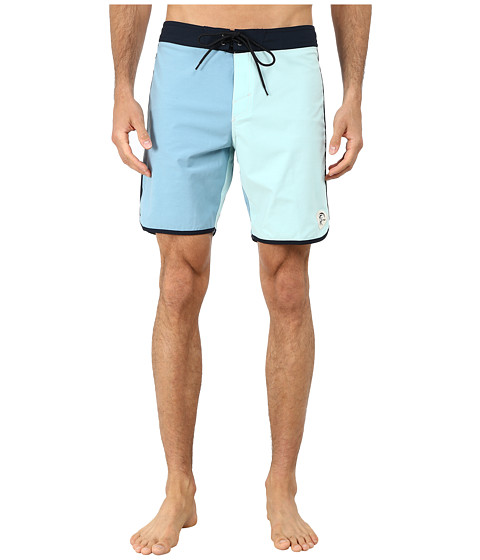O'Neill - Santa Cruz Original Scallop Boardshorts (Adriatic Blue) Men's Swimwear