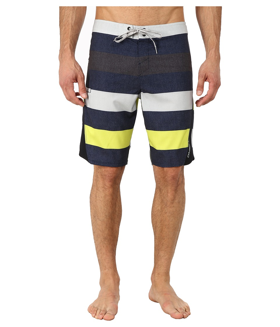 O'Neill - Superfreak Scallop Superfreak Series Boardshort (Midnight) Men's Swimwear