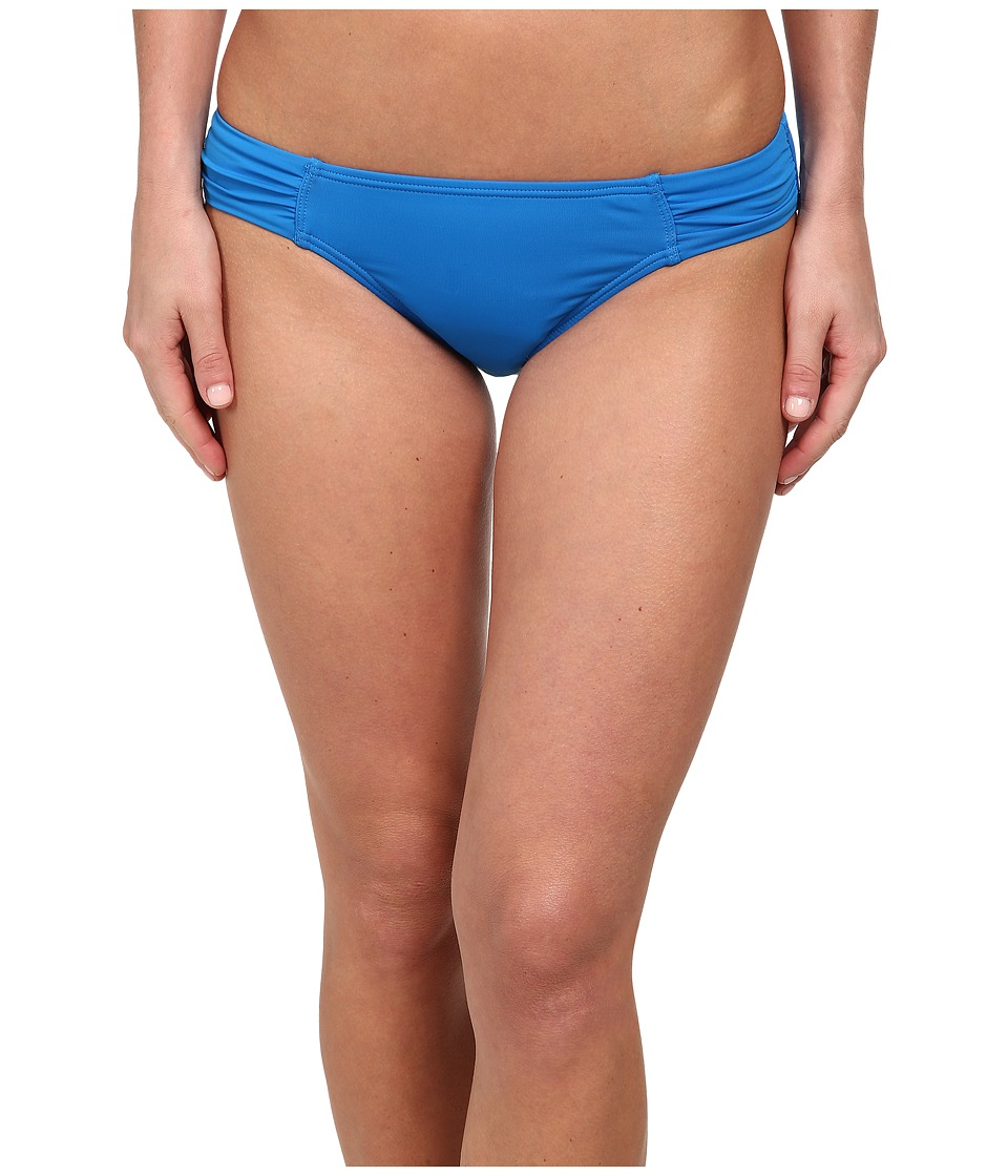 Tommy Bahama - Pearl Side Shirred Hipster Bottoms (Sailor Blue) Women's Swimwear