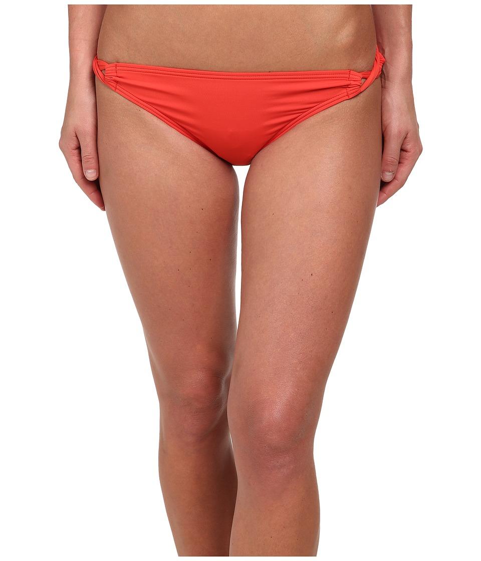 Tommy Bahama - Pearl Side Looped Bikini Bottoms (Hot Spice) Women's Swimwear