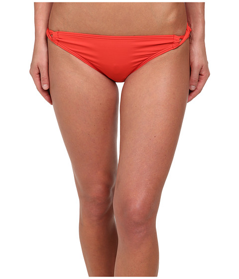 Tommy Bahama - Pearl Side Looped Bikini Bottoms (Hot Spice) Women's Swimwear