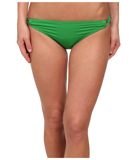 Tommy Bahama - Pearl Side Looped Bikini Bottoms (Palm Green) Women's Swimwear