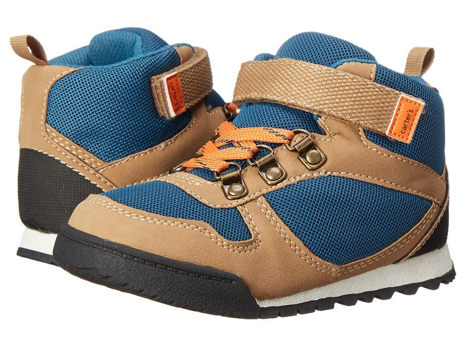 Carters - Emin 2 (Toddler/Little Kid) (Khaki/Navy) Boy's Shoes