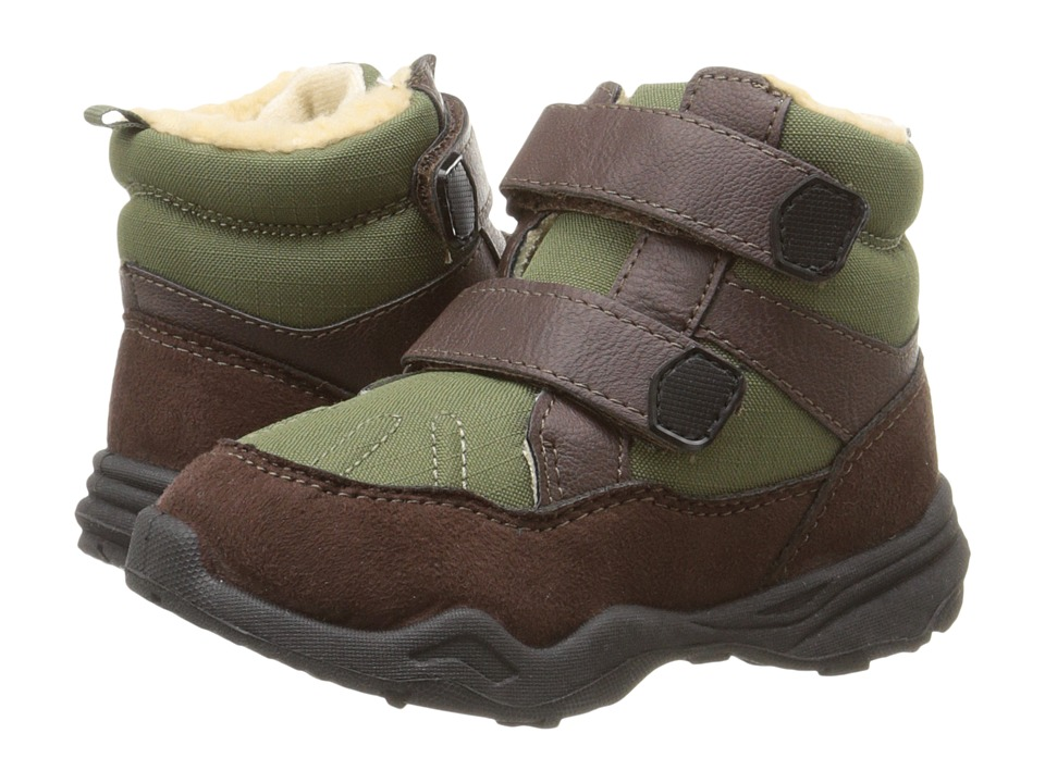 Carters - Dunes (Toddler/Little Kid) (Brown/Green) Boys Shoes
