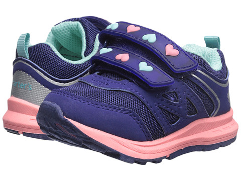 Carters - Marcel-G (Toddler/Little Kid) (Purple/Pink) Girl's Shoes