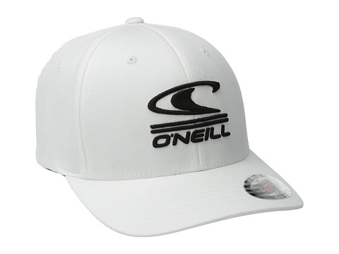 O'Neill - Limpio Y Malo Baseball Caps (White) Baseball Caps