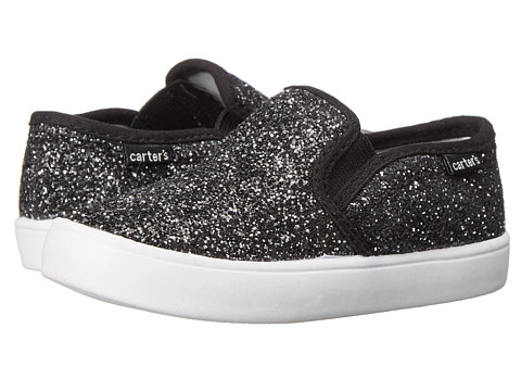 Carters - Tween 2 (Toddler/Little Kid) (Black Glitter) Girl