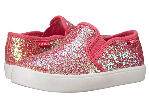 Carters - Tween 2 (Toddler/Little Kid) (Pink Glitter) Girl's Shoes