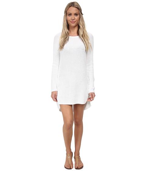 Tommy Bahama - Zipper Beach Sweater Cover-Up (White) Women