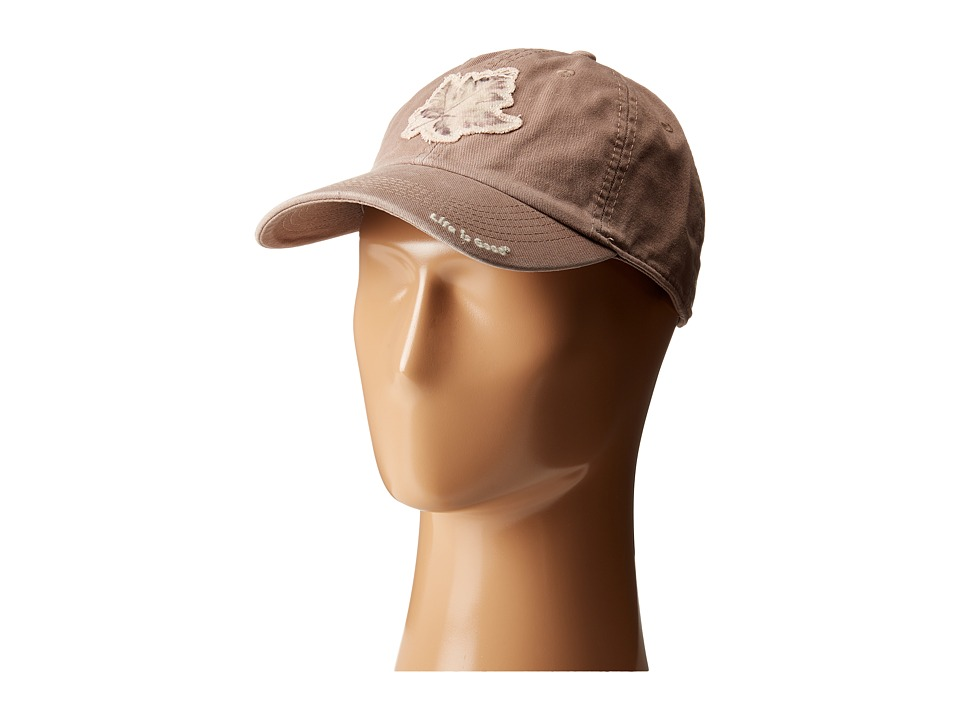 Life is good - Tattered Chill Cap (Mocha Brown) Baseball Caps