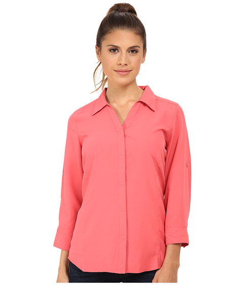 Royal Robbins - Light Expedition 3/4 Sleeve Top (Wild Rose) Women's Clothing