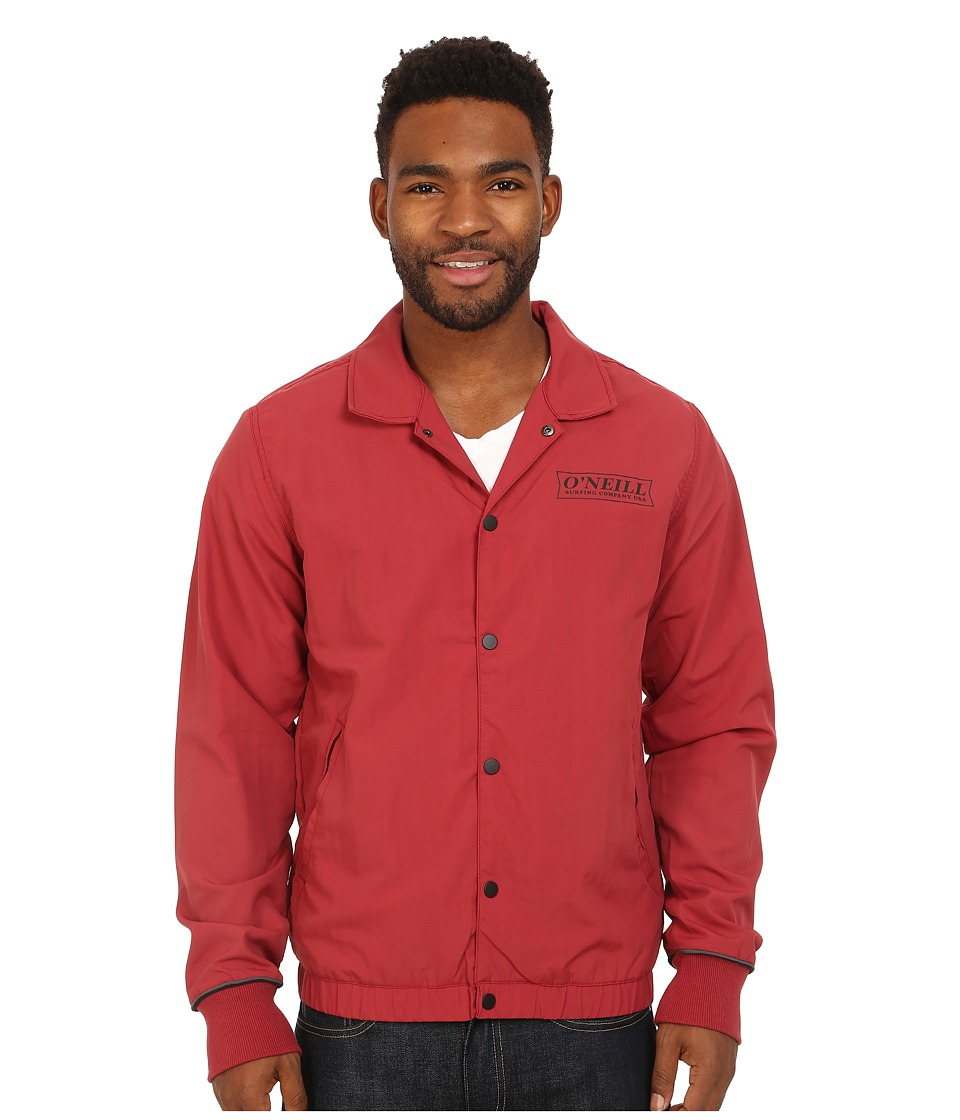 O'Neill - Team Jacket (Red Brick) Men's Coat