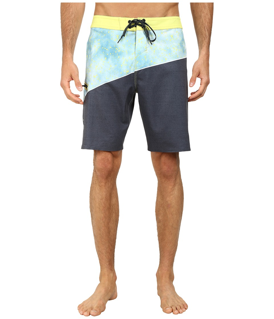 O'Neill - Side Wave Boardshorts (Lime) Men's Swimwear