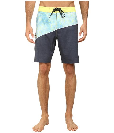 O'Neill - Side Wave Boardshorts (Lime) Men's Swimwear
