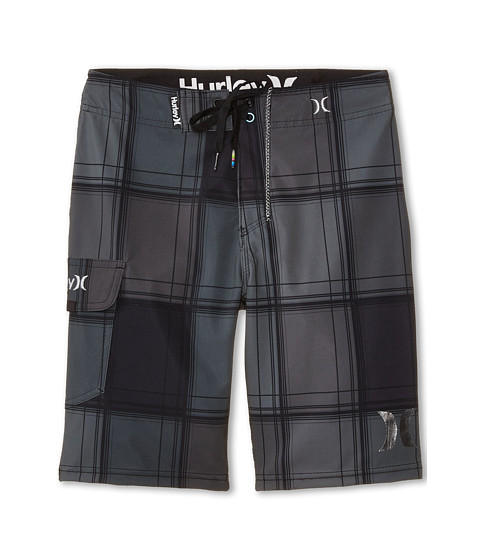 Hurley Kids - P60 Puerto Rico Boardshorts (Big Kids) (Grey) Boy