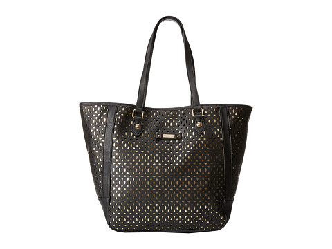 Jessica Simpson - Olivia Tote (Black/Gold) Tote Handbags