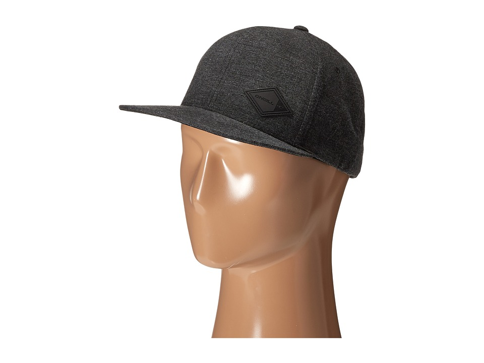 O'Neill - Class Adjustable Hat (Black Solid) Caps