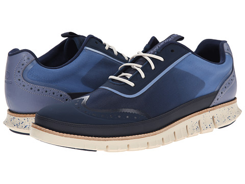 Cole Haan - Zerogrand Mesh Sport Oxford (Cornwell Blue) Men's Lace up casual Shoes