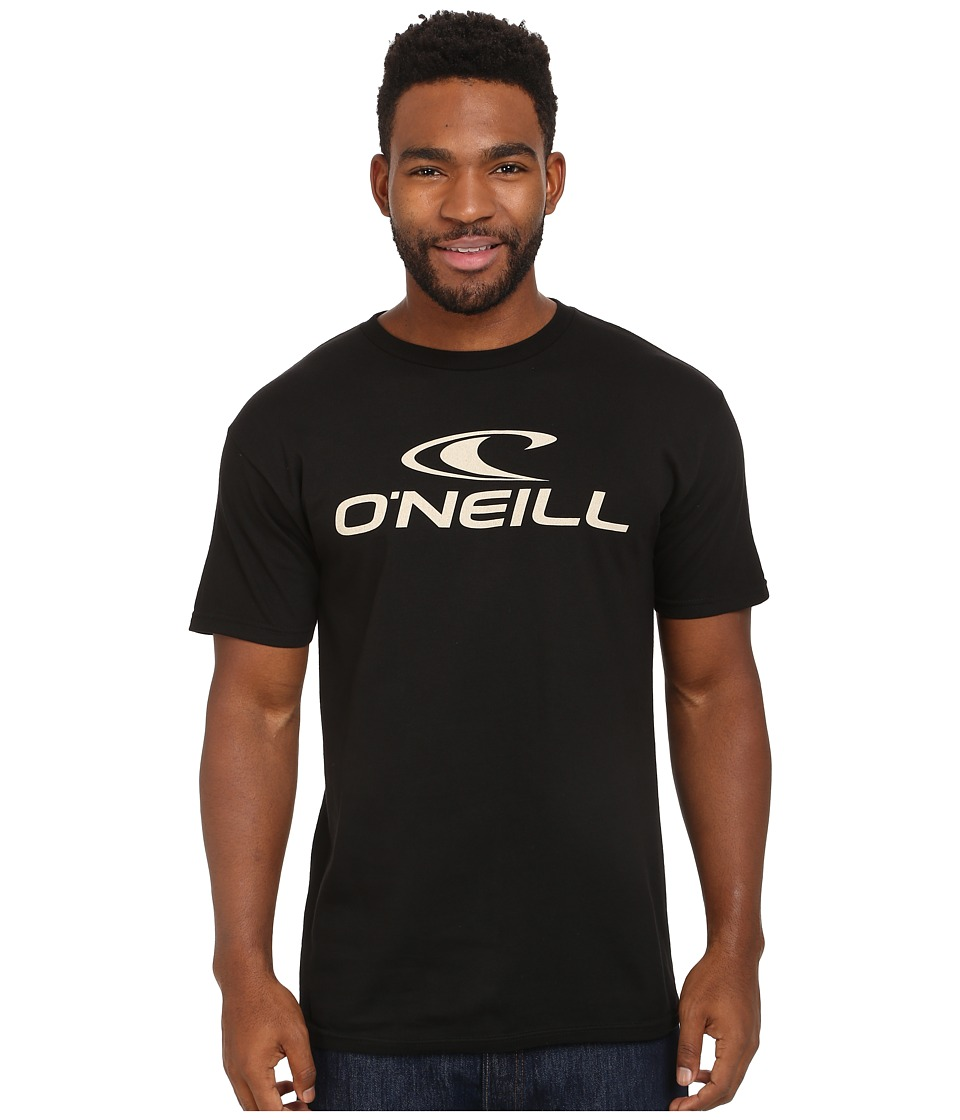 O'Neill - One Short Sleeve Screen Tee (Black) Men's T Shirt