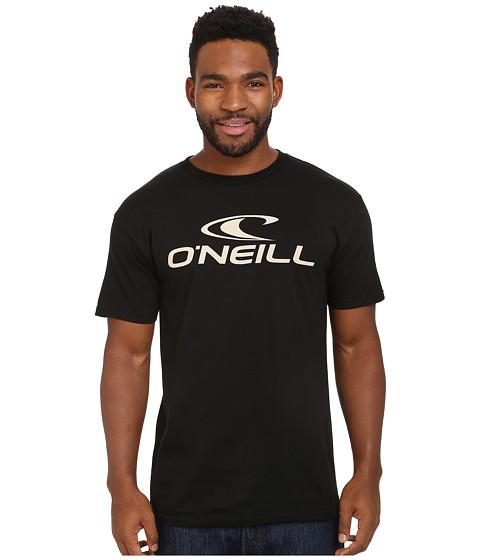 O'Neill - One Short Sleeve Screen Tee (Black) Men's T Shirt