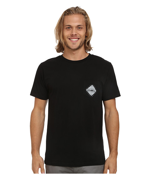 O'Neill - Balboa Short Sleeve Screen Tee (Black) Men's T Shirt