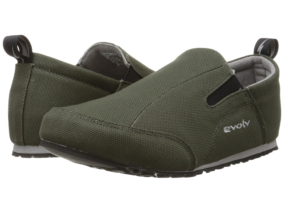 EVOLV - Cruzer Slip-On (Olive) Climbing Shoes