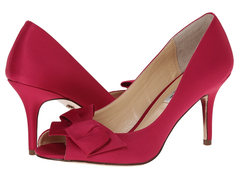 Nina - Fraser (Berry Luster Satin) High Heels