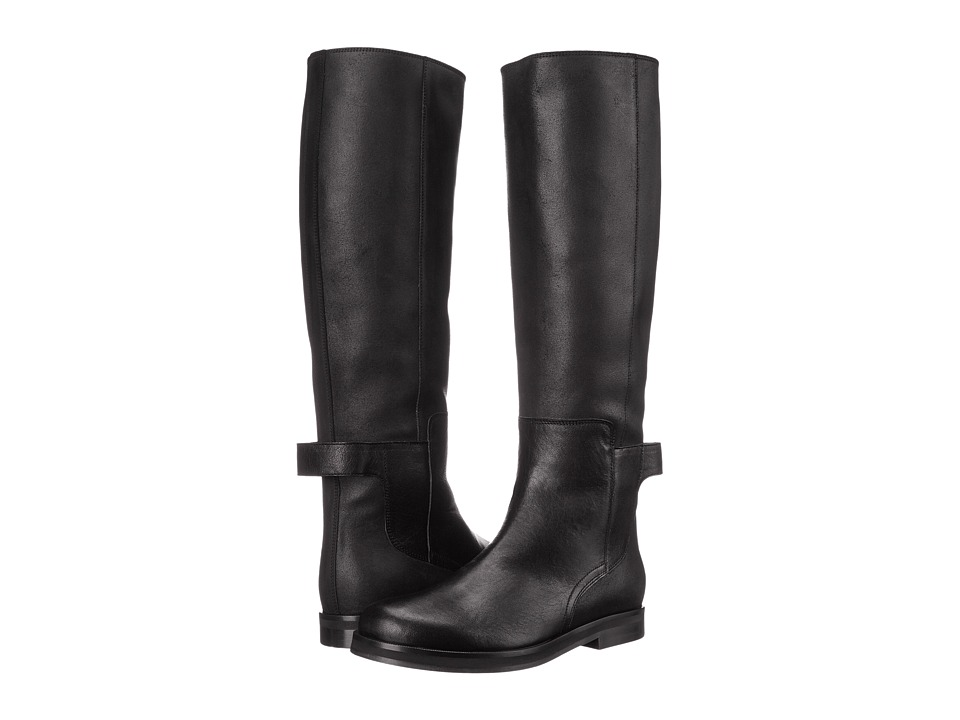 MM6 Maison Margiela - Ankle Strap Tall Boot (Black) Women
