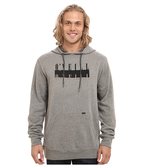 O'Neill - Onyx Pullover (Medium Heather Grey) Men's Long Sleeve Pullover