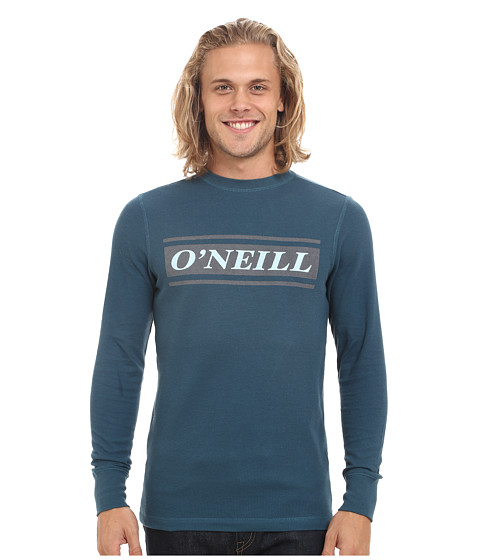 O'Neill - Bar Thermal Long Sleeve Screen Tee (Ink) Men's Long Sleeve Pullover